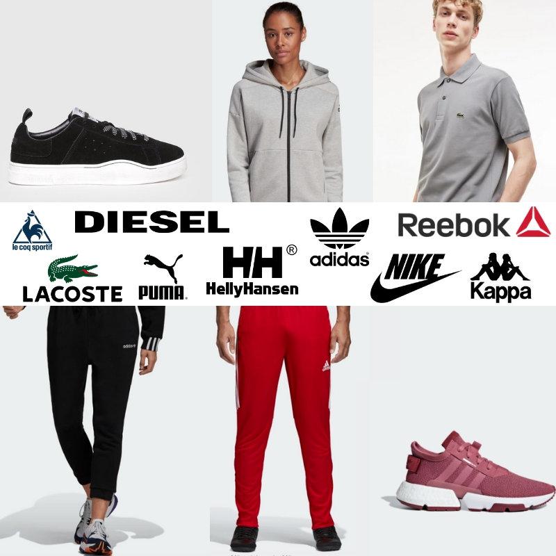 Volverse loco entregar Planificado  Sport clothes Nike, Adidas, Puma, Lacoste etc wholesale lot (100pcs) -  Agent Cargo